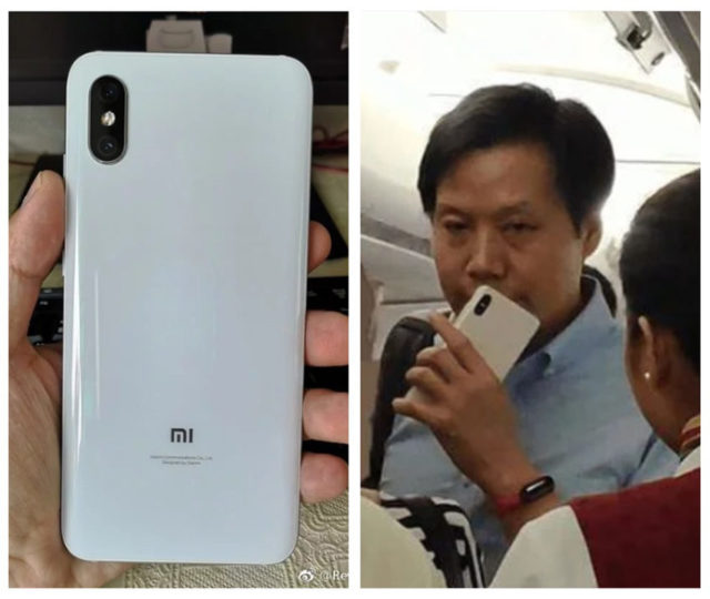 Лэй Цзюнь с айфоном в руке
