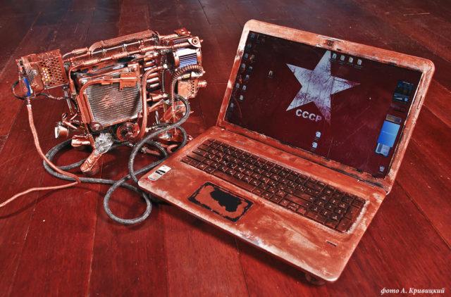 Тюнингованный ноутбук