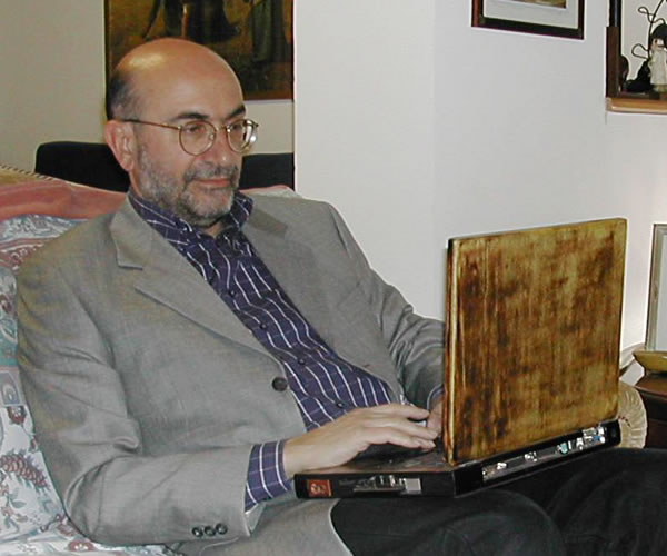 Деревянный ноутбук