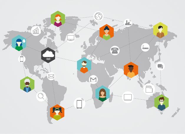Средства связи по всему миру