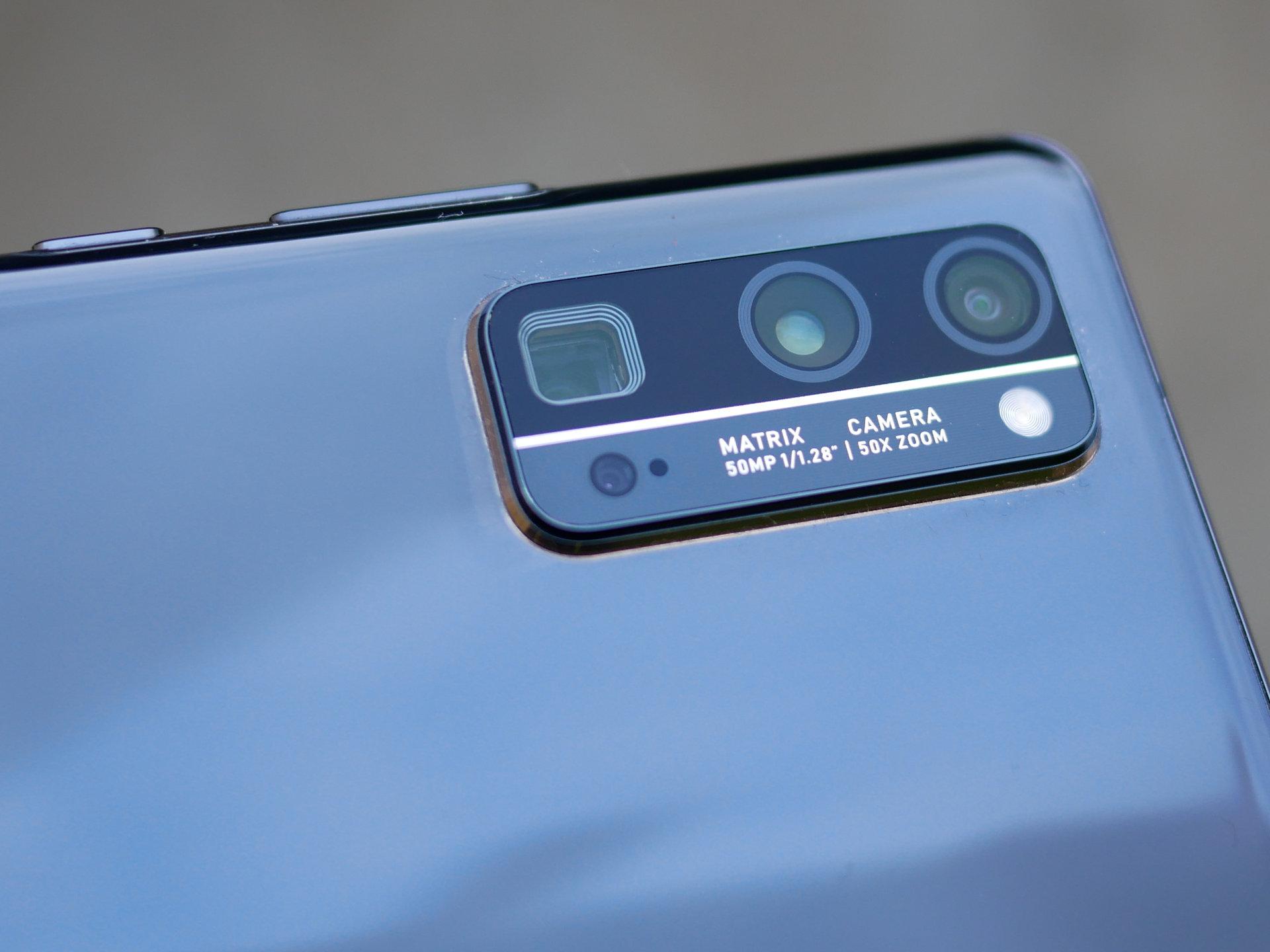 Câmeras do novo Honor 30 Pro +