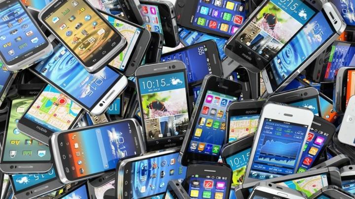 Viejos teléfonos inteligentes