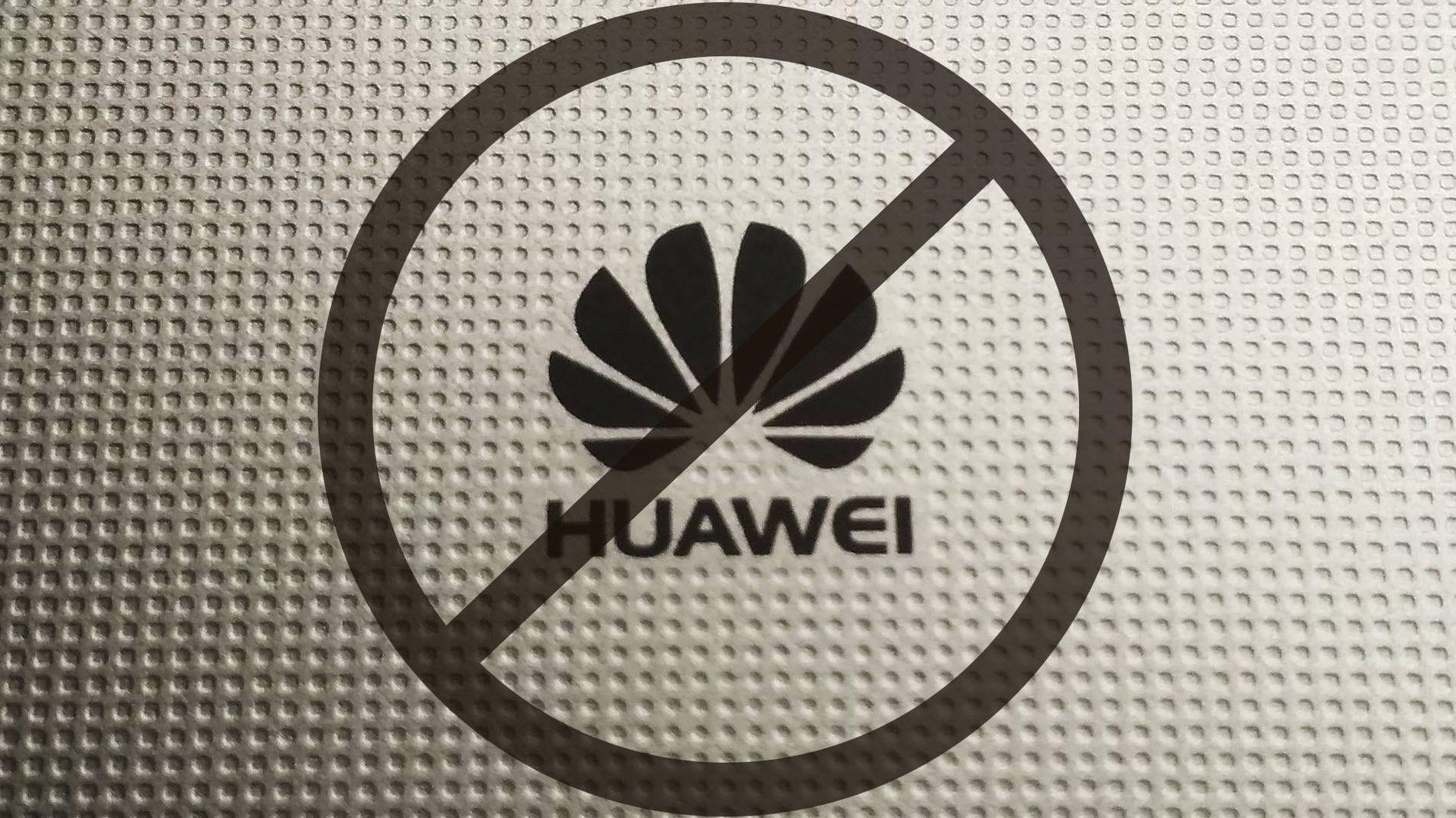 Interdiction de Huawei
