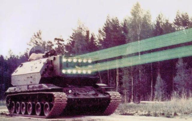 Лазерный танк