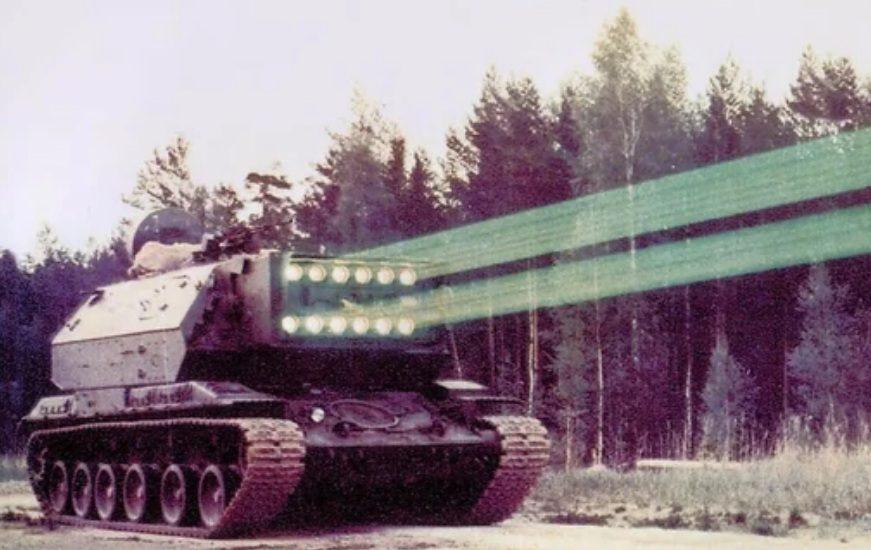 Лазерный танк СССР
