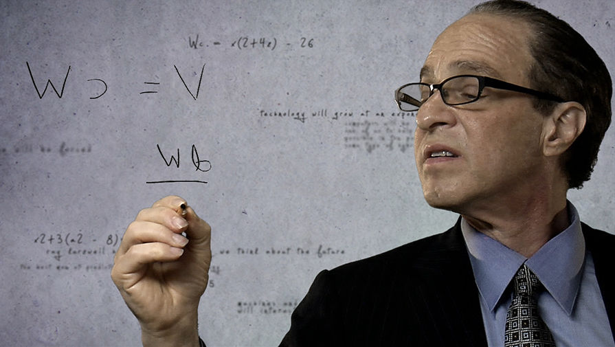 Рэй Курцвейл пишет формулу