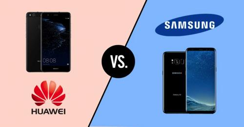 Samsung met Huawei