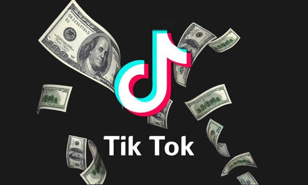 TikTok и деньги