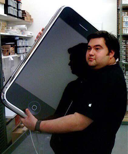 Огромный смартфон
