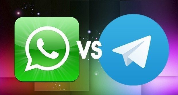 WhatsApp против Telegram