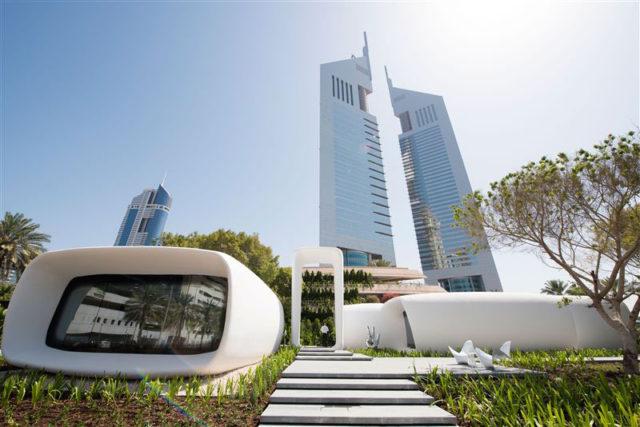 3D-печатный дом в Дубае
