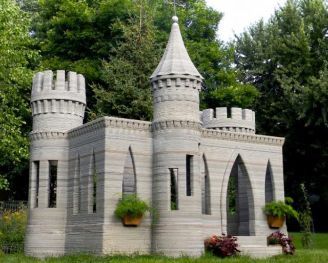 3D-замок в Миннесоте
