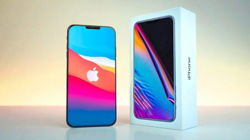 iPhone и коробка