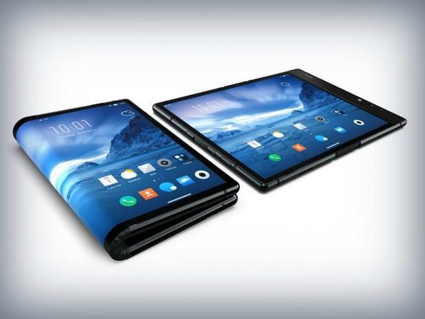 Смартфон с гибким экраном