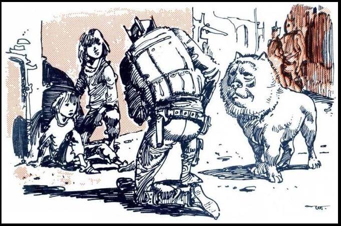 """Иллюстрация из """"Жука в муравейнике"""""""