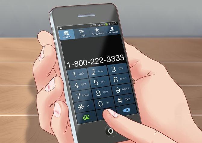 Добавочный номер на смартфоне