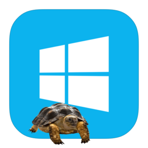 Виндовс и черепаха