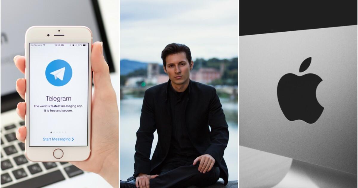 Telegram, Дуров и Apple
