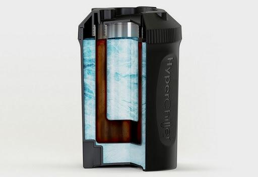 Охлаждающее приспособление для кофе