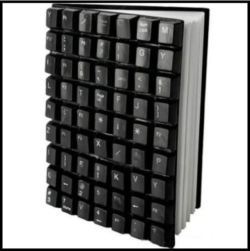 Ежедневник с клавиатурной обложкой