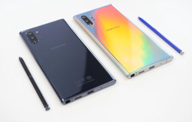 Samsung galaxy note 10 со стилусами в двух цветах