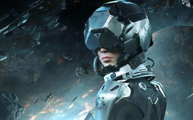 Девушка в VR-шлеме