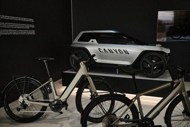 Велосипед будущего Canyon