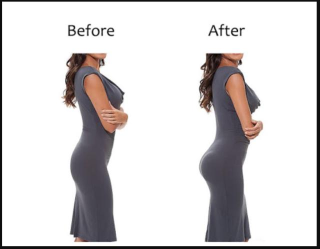 Женская фигура до фотошопа и после него