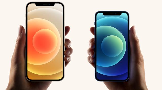iPhone 12 и 12 Pro в руках