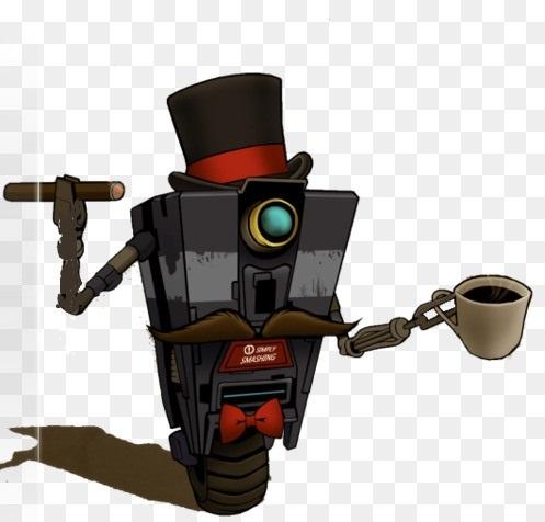 Робот с кофе