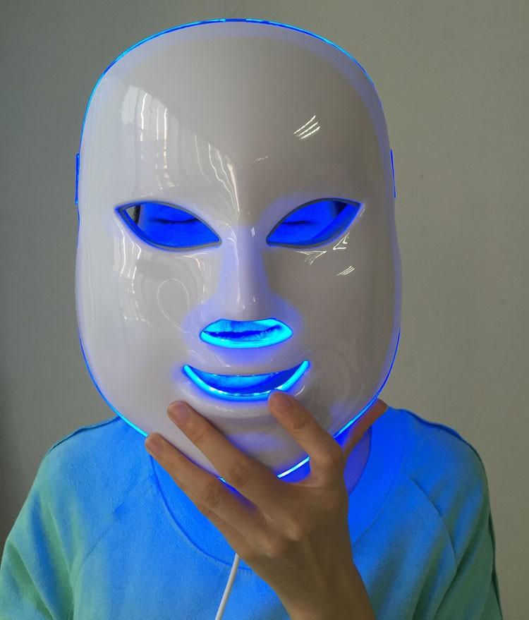 Светодиодная маска против угревой сыпи