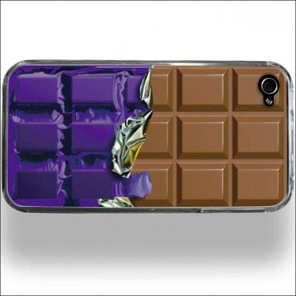 Чехол для смартфона в виде шоколадки