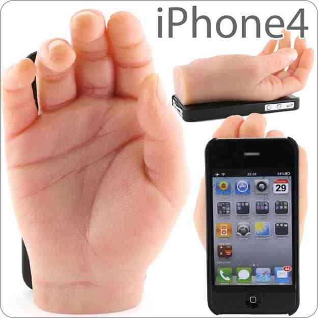 Чехол для смартфона с рукой