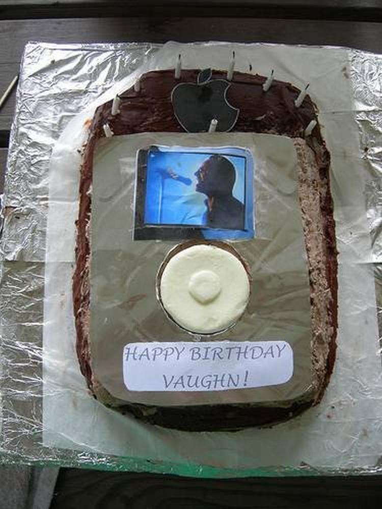 Торт в виде айпода
