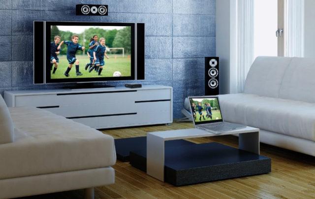 Синхронизация телевизора и ПК