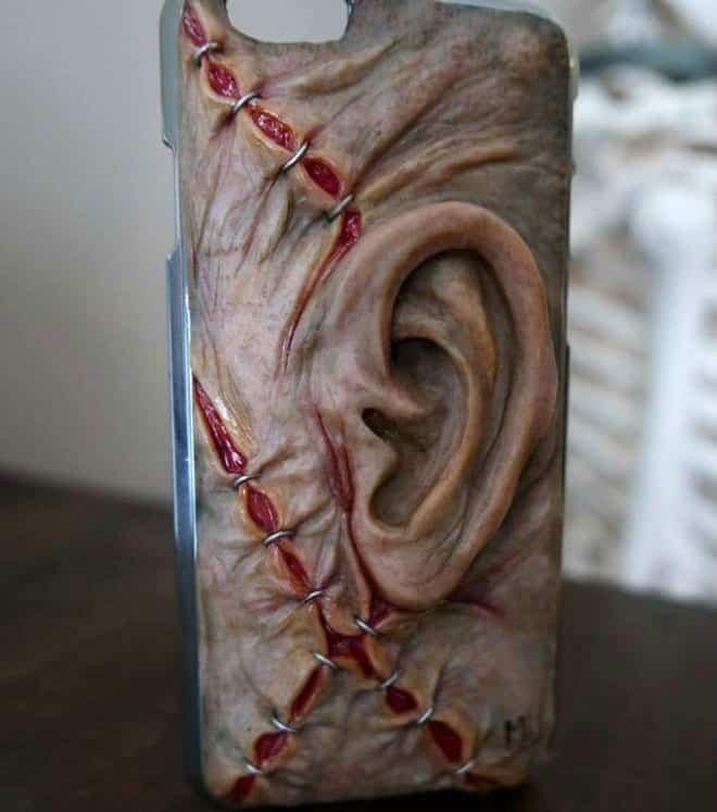 Чехол для смартфона с ухом