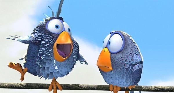 Птички из мультфильма