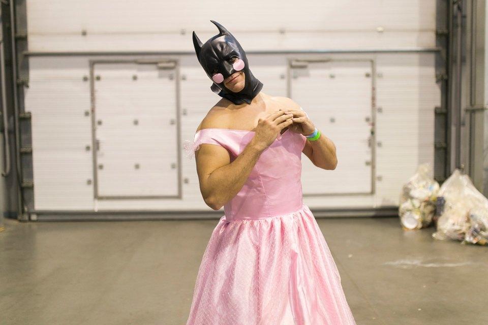 Косплейный образ Бэтмена