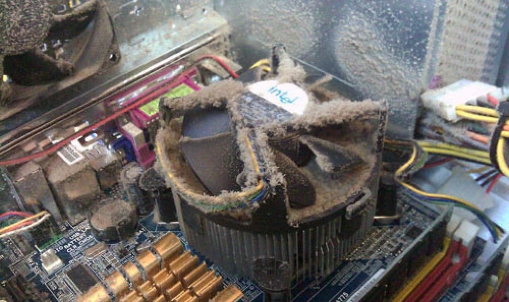 Система вентиляции ПК в цепи