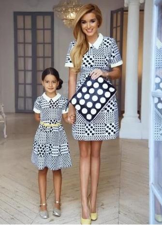 Фотошоп Ксюши Бородиной с дочкой
