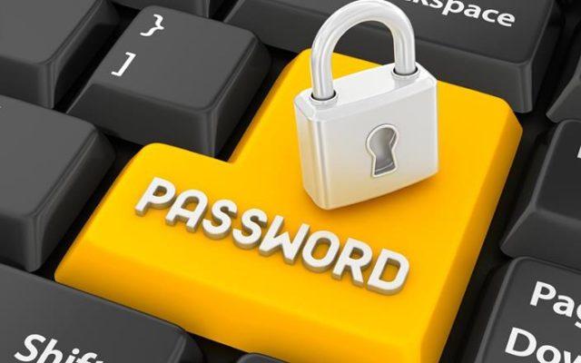 Замок на клавише Password