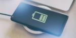 Смартфон на беспроводной зарядке