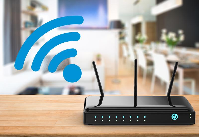 Wi-Fi-роутер в доме