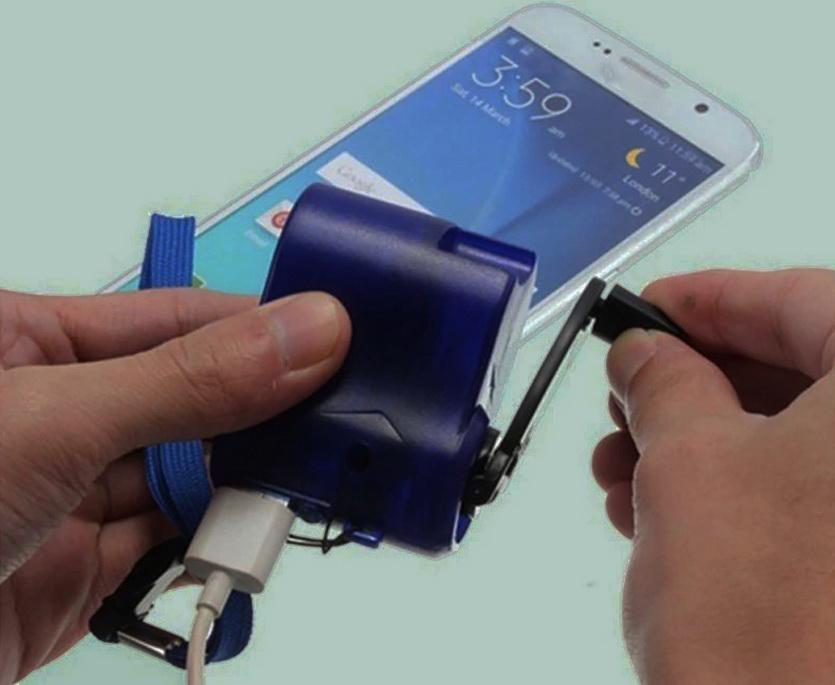 Ручная зарядка для смартфона