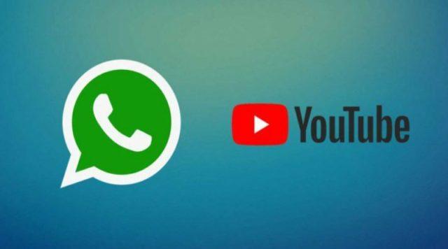 WhatsApp и YouTube