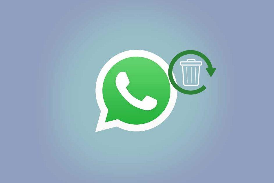 Логотип WhatsApp и значок Корзины
