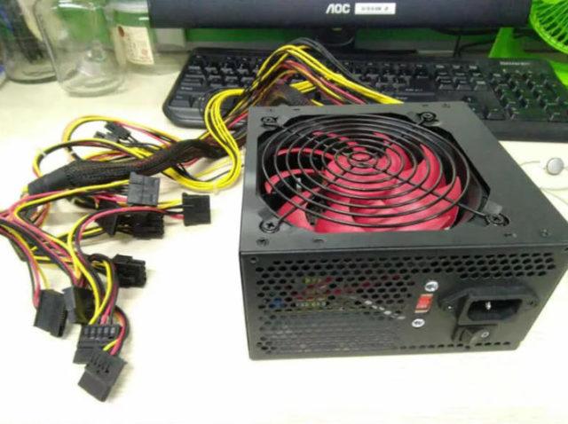 24 Pin PCI SATA ATX 12