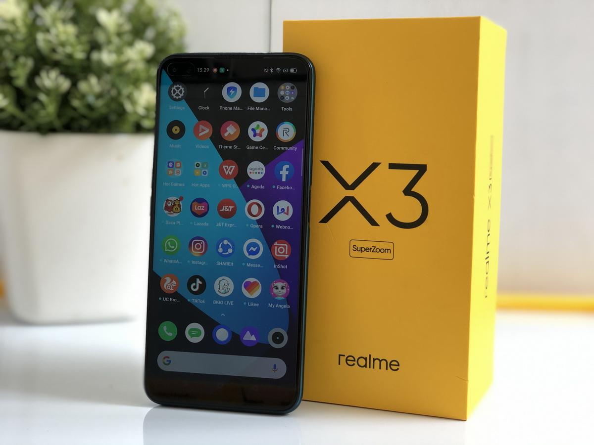 Realme X3 SuperZoom.