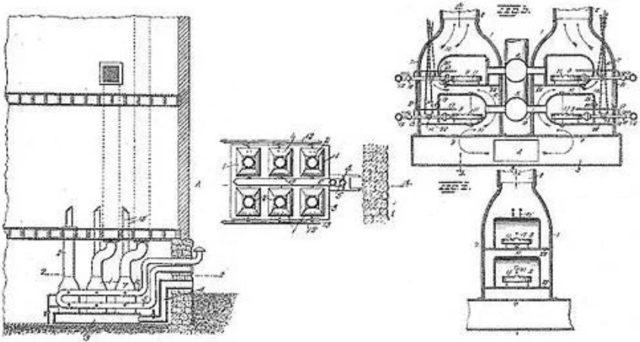 Конструкционная схема котла Паркера