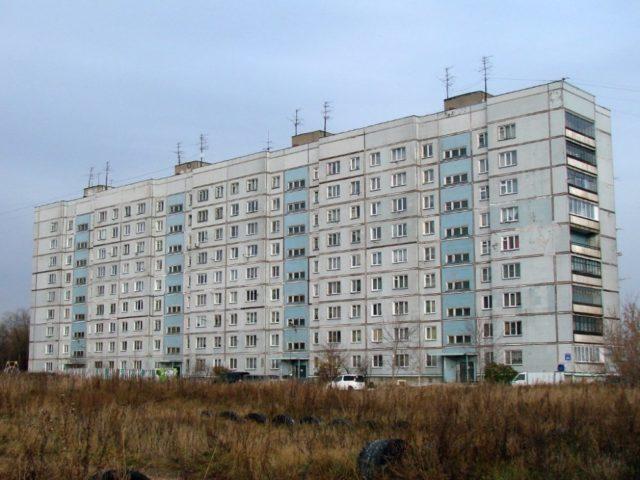 Советская типовая панельная многоэтажка